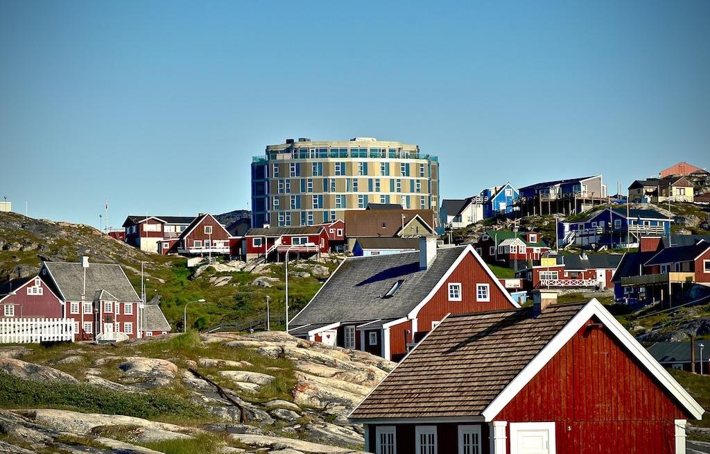 Erstes internationales Hotel in Grönland