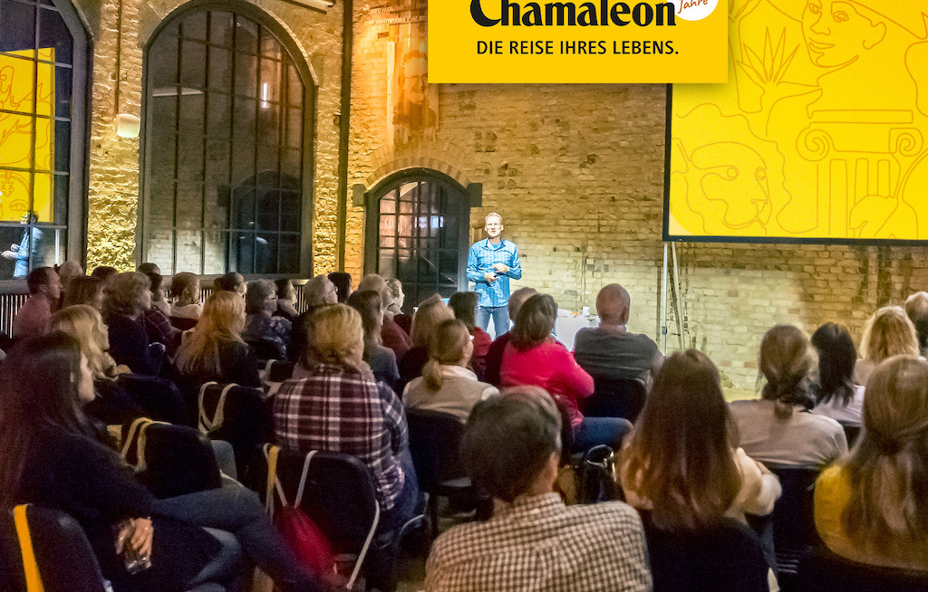 Chamäleon geht auf Jubiläums-Tournee