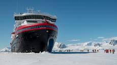Hurtigruten informiert über die Antarktis