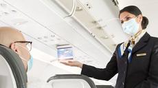 Airlines erlauben nur noch medizinische Masken