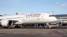 Vistara fliegt von Frankfurt nach Delhi