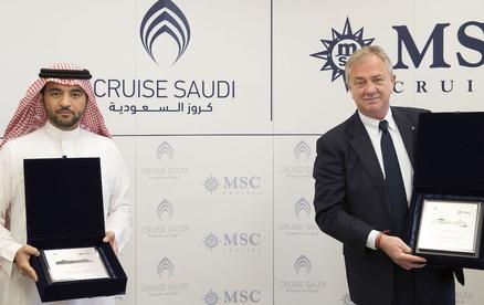 MSC stationiert Schiff in Saudi-Arabien